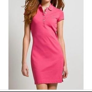 Like new Ralph Lauren Polo shirt pink dress M